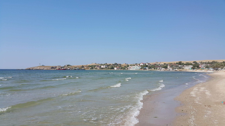 Берег Азовсокго моря на мысе Казантип